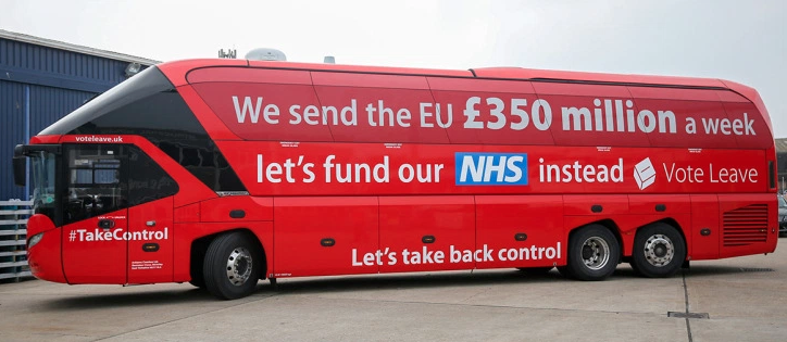 We send the EU £350 million a week; let's fund our NHS instead. Vote Leave.